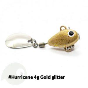 UF Studio Hurricane Gold glitter