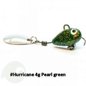 UF Studio Hurricane Pearl green