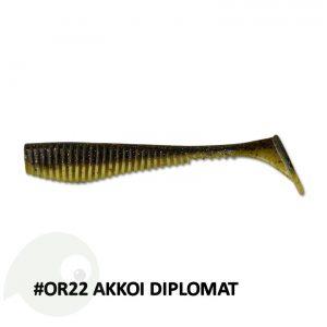AKKOI Original Diplomat 74mm OR22