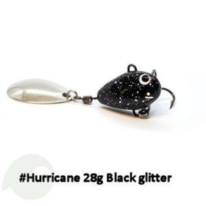 UF Studio Hurricane 28g Black Glitter