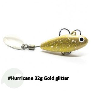 UF Studio Hurricane 32 g Gold Glitter
